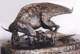 Bobm edmontosaurus family