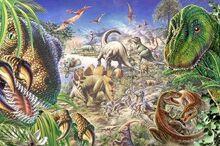 Cretaceous-dinosaurs