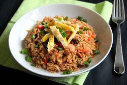 Nasi goreng indonésien