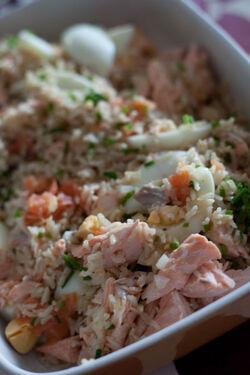 Kedgeree de saumon
