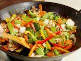 Wok de légumes à la chinoise