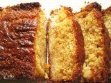 Cake au miel et à la banane