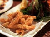 Maquereaux frits au gingembre