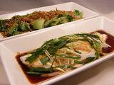 Filets de poisson sauce gingembre