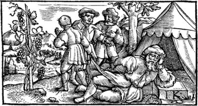800px-IK Drunken Noah woodcut 1539