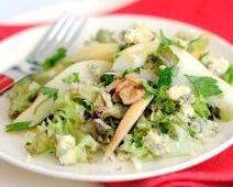 Salade d'endives à la poire et au bleu