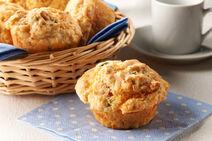 Muffins aux maïs et au bacon