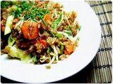 Légumes sautés à la sauce Hoisin