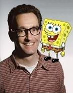 Tom kenny With Spongebob