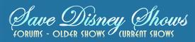 Save Disney Shows Logo