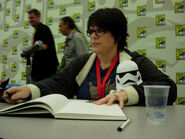 April Winchell at SDCC