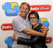 Jack McBrayer and April Winchell
