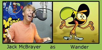Jack McBrayer as Wander