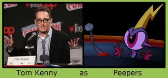 Tom Kenny as Peepers