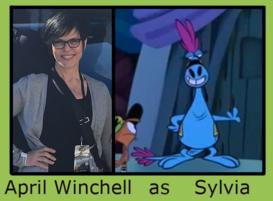 April Winchell as Sylvia