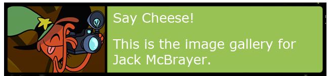Jack McBrayer Gallery Banner
