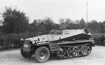 SdKfz 250 alt german halftrack