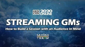 Streaming GMs Chat - How to Build a Session for an Audience GenConOnline