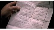 Amanda's letter - close- up