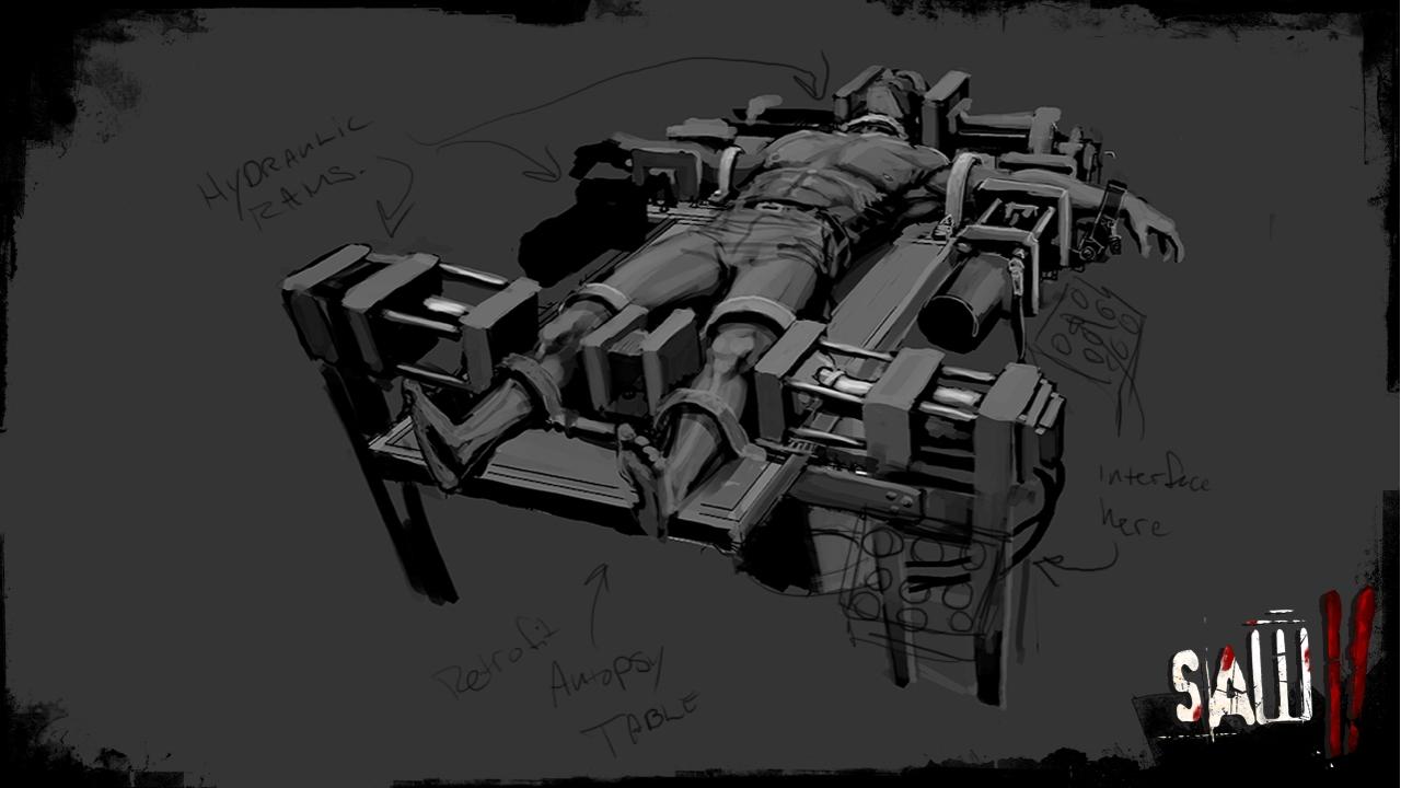 Image - Saw II game concept art-2 jpg | Saw Wiki | FANDOM powered by