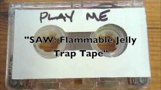 SAW- Actual Test Flammable Jelly Tape