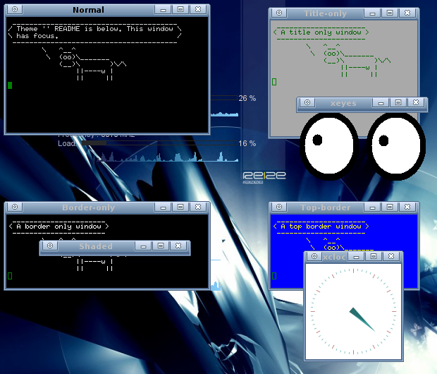 Candido Blue Screenshot