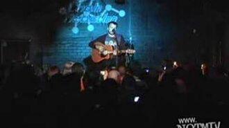 Ahh men - Max Bemis (live acoustic - chain reaction)