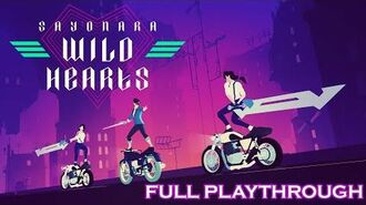 Sayonara Wild Hearts - Full Playthrough (PS4, No Commentary)