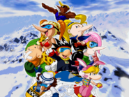 The Cast of Snowboard Kids Plus