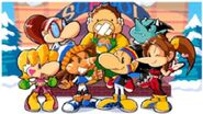 The Cast of Snowboard Kids 2 (2)