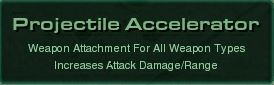 Projectile Accelerator Name