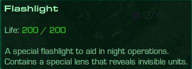 Flashlight Description