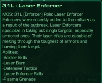 31L Laser Enforcer