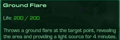 Ground Flare Description