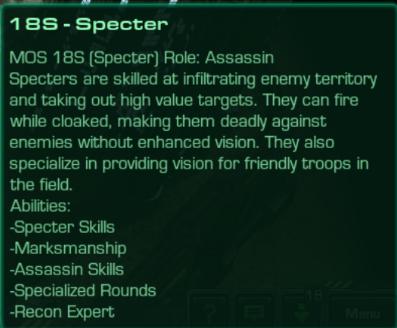 18S Specter