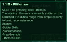 11B Rifleman