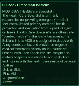 68W Combat Medic