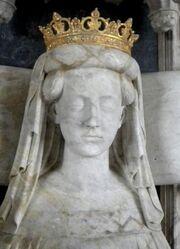 Margaret of Denmark, Norway & Sweden (1389) effigy 2010 (2)