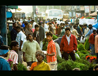 Welcome to City Market,Bangalore