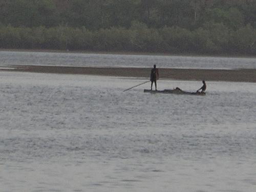Passing boat
