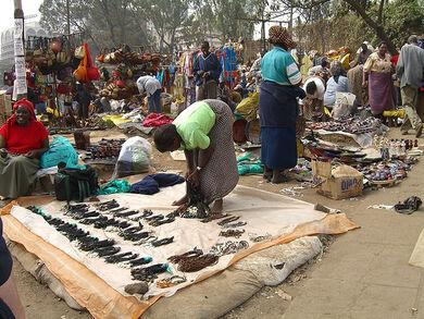Maasai Market in Nairobi