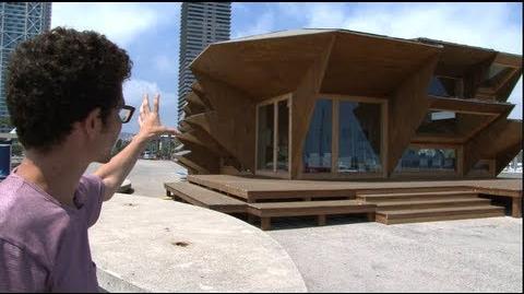 Fully-customized, modular solar house is 3D printed prefab