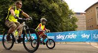 Skyride 2010 - father & son