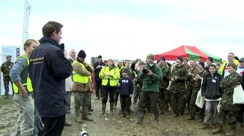 The Woodland Trust attempts to break the World Record for planting trees