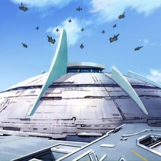 A planet Earth city (home city of Team JET)