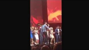 Long video of Ellen Pompeo dancing at ABC Upfront 2015.