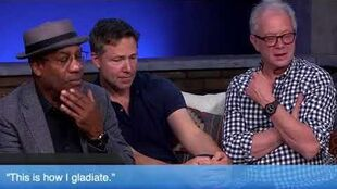 "Joe, George & Jeff play the game ""Who Said that Line?"" ❤️ Check your Scandal Memory too!!!!"