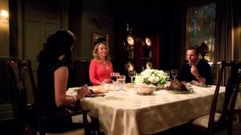 Mellie and Harmony Awkward Family Dinner - Scandal