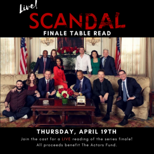 2018 Scandal Live Table Read (Tony Goldwyn) 02