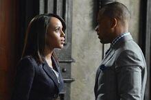 3x01 - Olivia Pope and Harrison Wright